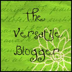 Versatile blogger award 3