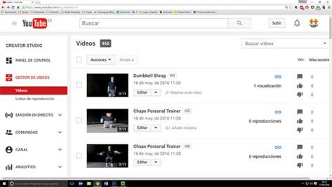 460 videos